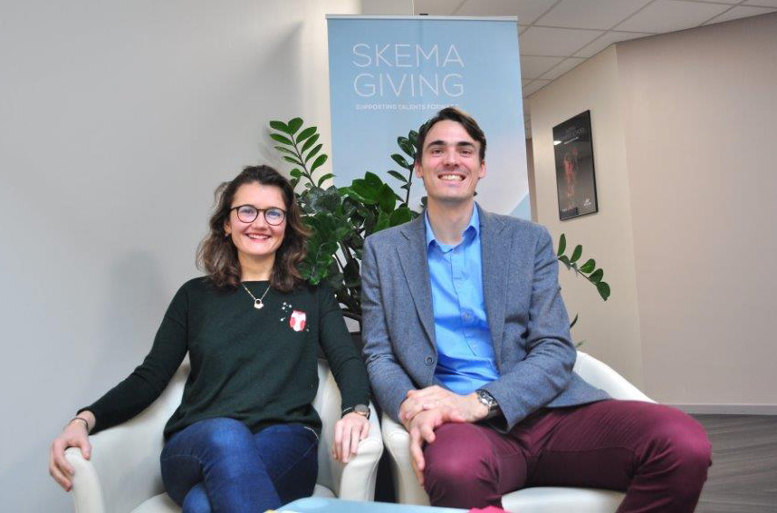 Meeting the SKEMA fundraising development team