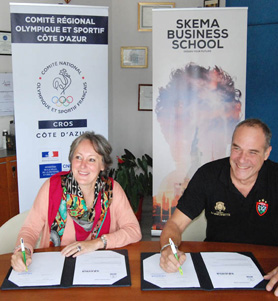 SKEMA and Regional Olympic Sports Committee partnership