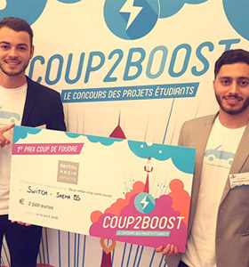 SKEMA students winners at entrepreneurial competition