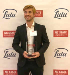 BBA Raleigh, USA: student wins first prize for start up