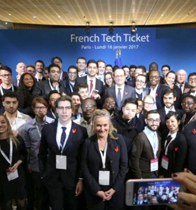 MSc Entrepreneurship student wins French Tech Ticket funds