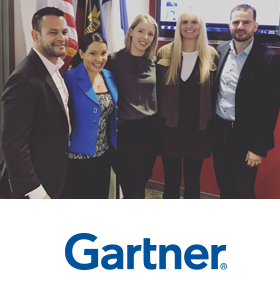 Gartner on US campus for students' internships and jobs