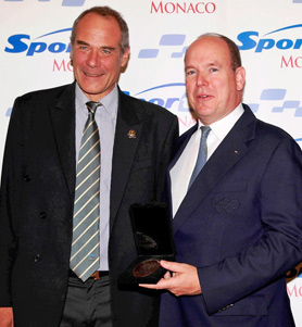MSc Luxury & Fashion director with Prince Albert II of Monaco