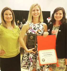 Student honoured by the Center for Leadership, Ethics and Public Service of NC State