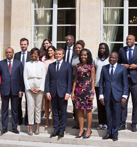 Alumnus on President Macron's Advisory Board for Africa