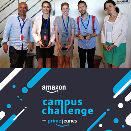 MSc Marketing team win Amazon Campus Challenge
