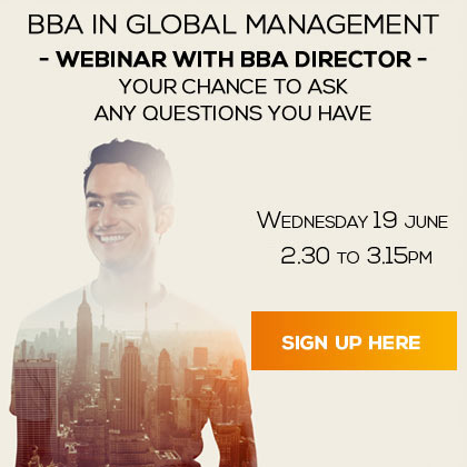 Webinar with BBA director, 19 June