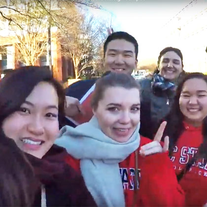 US campus student video: a day in the life