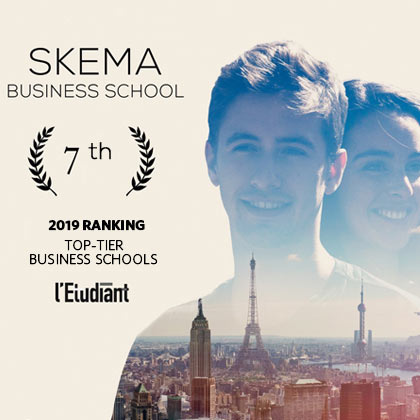 SKEMA ranks 7th in important ranking: l'Etudiant