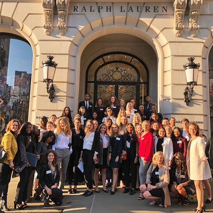 MSc Global Luxury New York City study trip