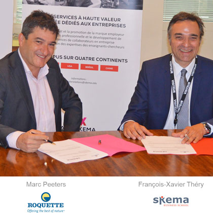 Roquette and SKEMA sign partnership deal
