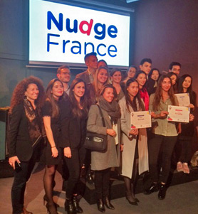 Three SKEMA teams win prizes at 2016 Nudge Challenge