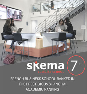 SKEMA enters the Shanghai Academic Ranking