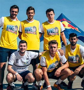 Football: SKEMA team challenges the Brazilians