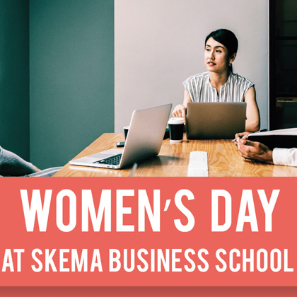 Women's Day event at SKEMA Suzhou