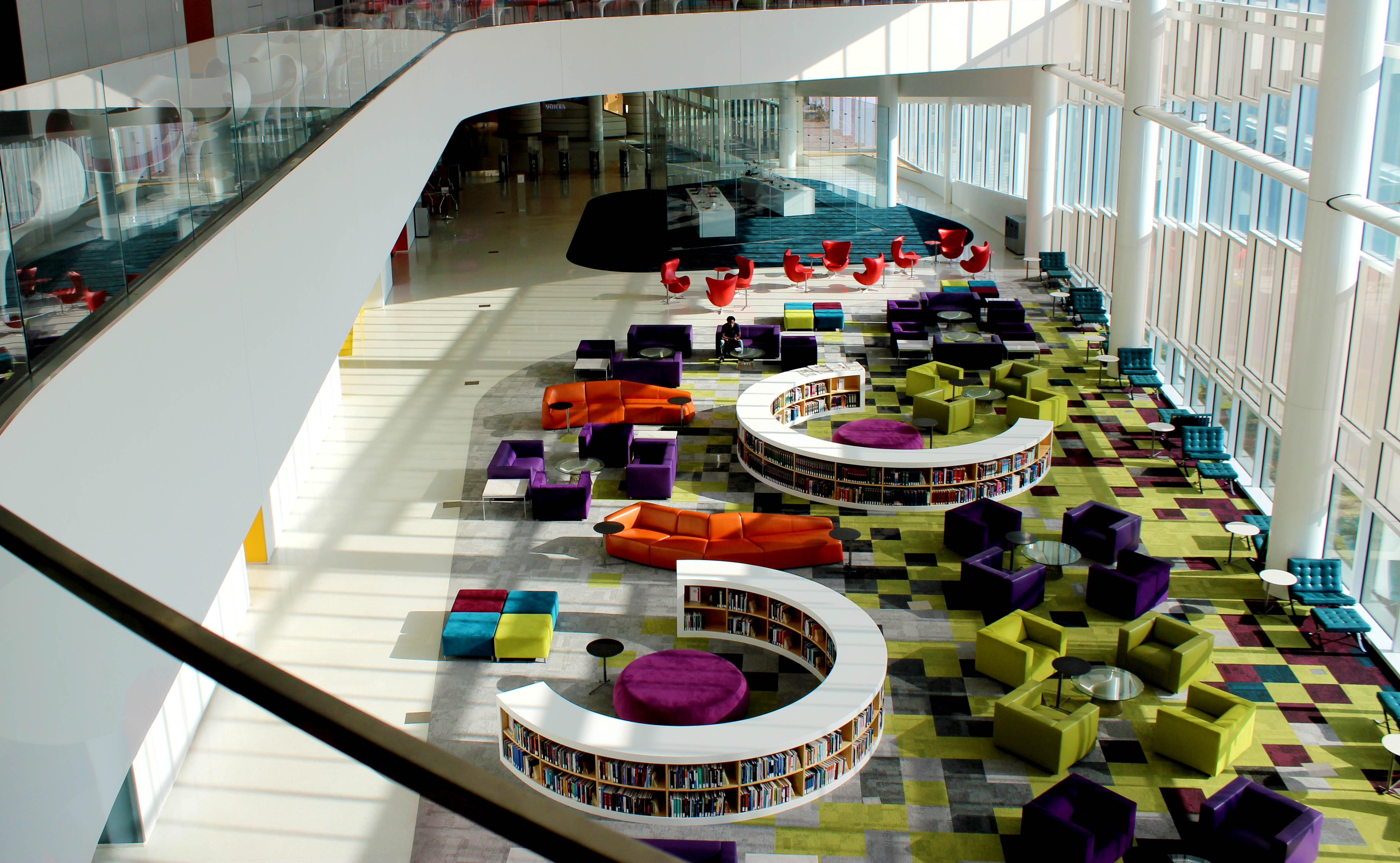James B Hunt Jr Library at SKEMA's Raleigh campus